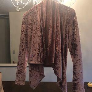 Women's velvet wrap. BlankNYC. Size small.